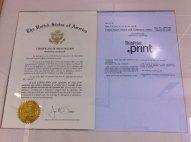 Il brevetto ThinPrint in USA