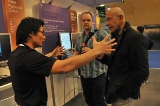 Davide Galanti discute del personal cloud