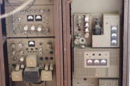 Vecchi apparati radio al Museo dell'Aria