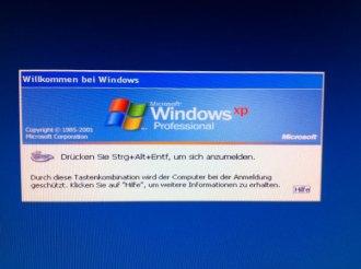 """""""Willkommen bei Windows"""""""