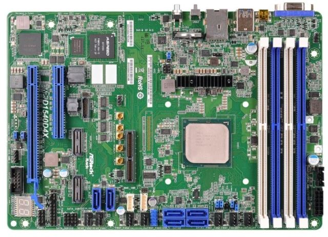 ASRock Rack D15400D4X Intel Xeon D 2100 series of processors   The complete specifications list included by Intel