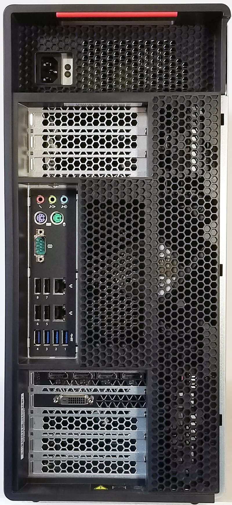 Lenovo ThinkStation P910 Review Advanced Dual Xeon