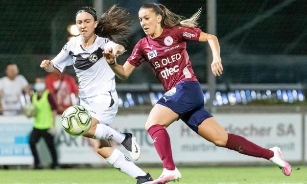 FC Lugano – Servette FC Chênois Féminin : Le goal-average en ligne de mire
