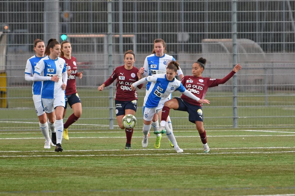 Grasshopper Zürich- Servette FC Chênois Féminin : Rencontre avancée