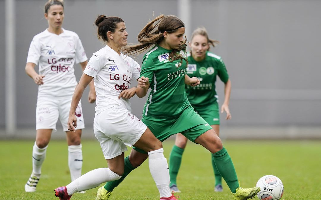 Servette FC Chênois Féminin- FC Sankt Gallen-Staad : Retour en terre genevoise