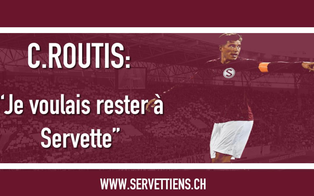 """Christopher Routis : """" Je voulais rester à Servette """""""
