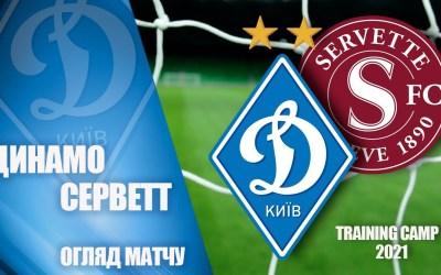 Servette – Dynamo Kiev : Le résumé vidéo
