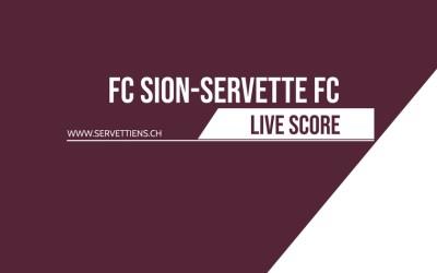 FC Sion – Servette FC | Le livescore