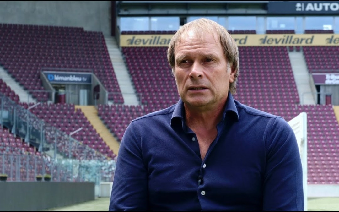 "Alain Geiger: ""on veut consolider"" (Blue Sports Romandie)"