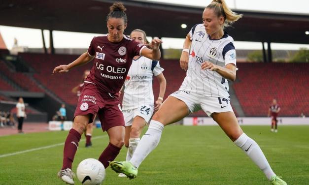 Zurich Frauen – Servette FCCF 2-1 : Mauvais départ