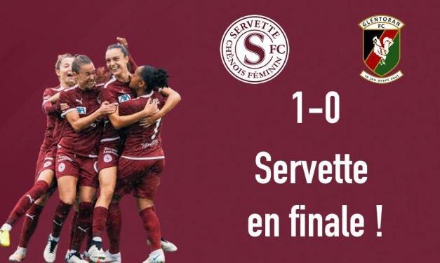 Servette FCCF – Glentoran 1-0 : Première étape franchie