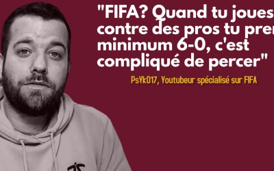 Interview PsYkO17, Youtubeur FIFA et fan du Servette FC