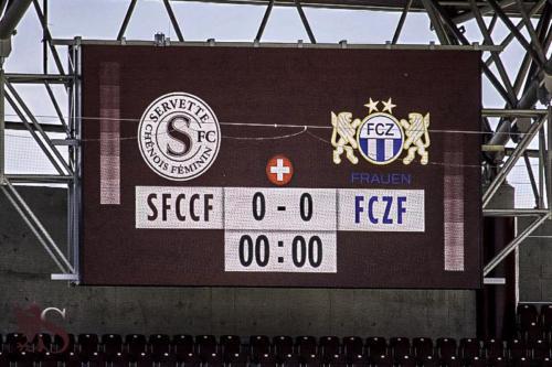 Servette FCCF - FC Zurich (Coupe de Suisse)