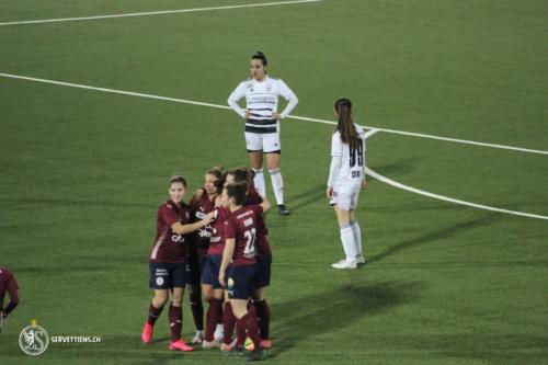 Servette FC Chênois Féminin - FC Bâle