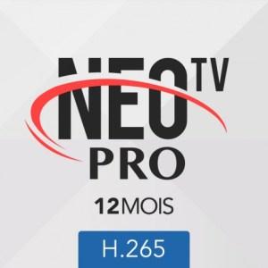 Abonnement neotv PRO 2 H.265 12 mois