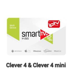 Abonnement SMART+ Clever 4 & Clever 4 mini