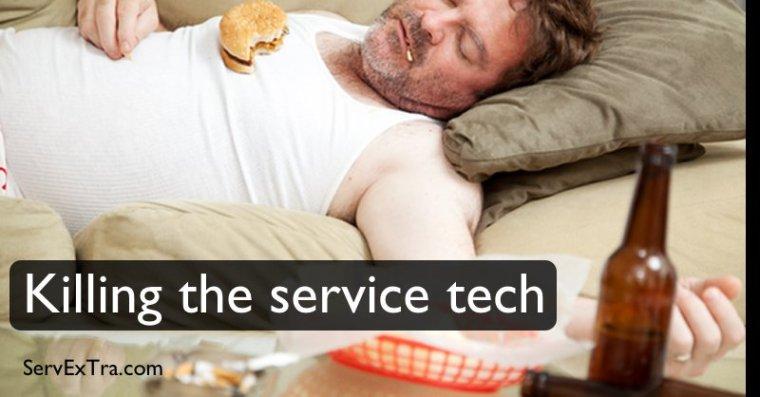 Killing the service tech