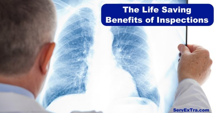 The life saving benefits of inspections