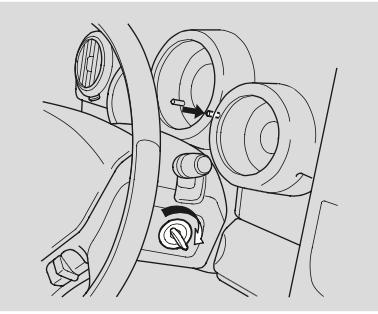Reset service light oil life indicator Honda Element