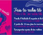 Octobre rose Direction de la santé Tahiti