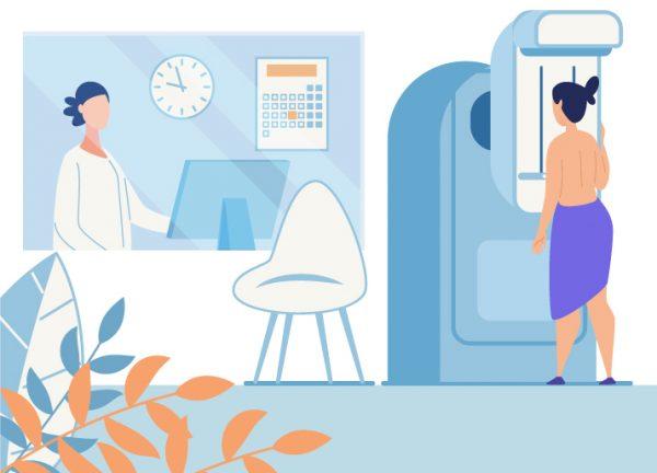 Illustration Depistage Cancer Sein