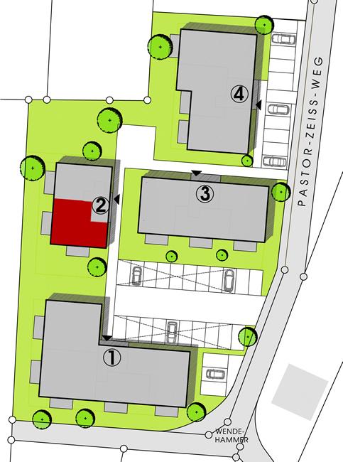 Haus 2  Wohnungstypen