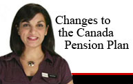 Changes to the Canada Pension Plan