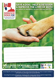 Service Dogs UK | Fundraising Materials | Event Poster A4