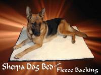 Magic Carpet Sherpa/Fleece Dog Bed
