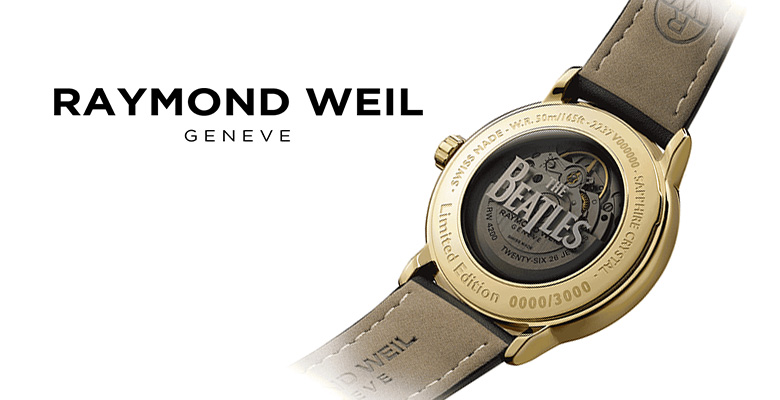 raymond weil - beatles watch