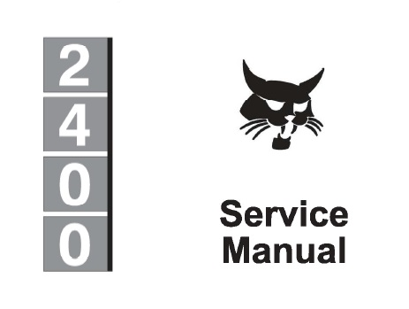 Bobcat 2400 Articulated Loader Service Repair Manual
