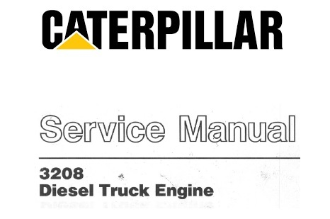 Caterpillar Cat 3208 Diesel Truck Engine Service Reapir