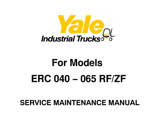 Yale ERC 040 – 050 – 060