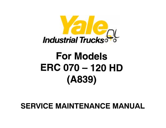 Yale ERC 070 – 080 – 100