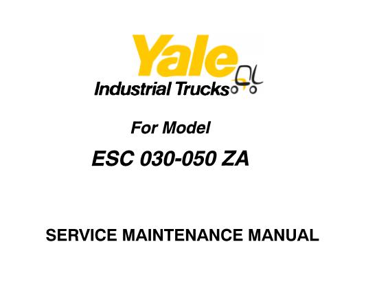 Yale ESC 030 – 035 – 040
