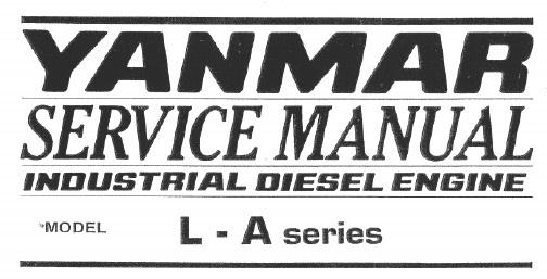 Yanmar Industrial Diesel Engine L40AE, L48AE, L60AE, L70AE