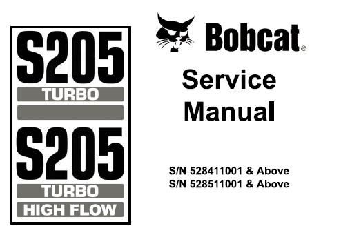 Bobcat S205 Turbo, S205 Turbo High Flow Skid
