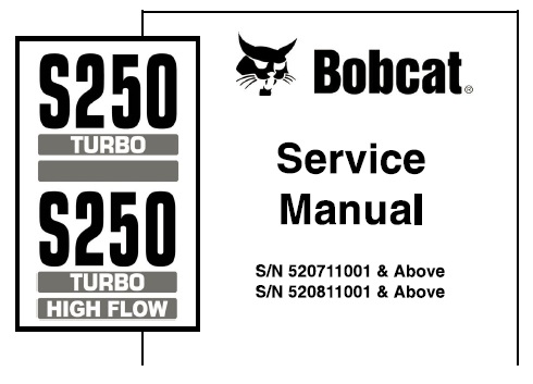 Bobcat S250 Turbo, S250 Turbo High Flow Skid