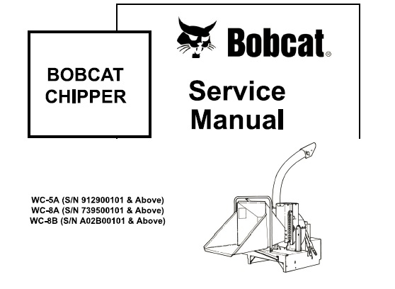 Bobcat Chipper Service Repair Manual