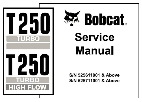 Bobcat T250 Turbo, T250 Turbo High Flow Compact Track