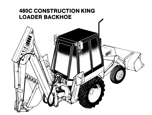 Case 480C Tractor Backhoe Loader Parts Manual