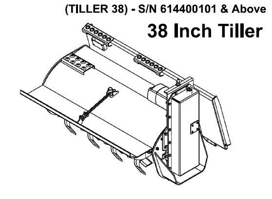 Bobcat 38 Inch Tiller Service Repair Manual