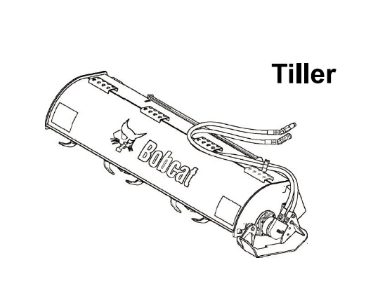 Bobcat 62 & 76 Tiller Service Repair Manual