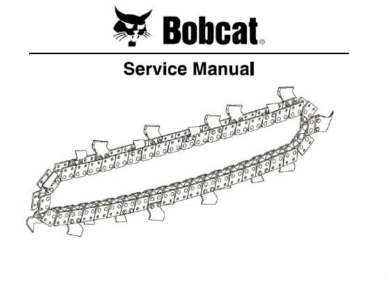 Bobcat LT112 MX112 LT113 LT213 LT313 LT414 Trencher Chain