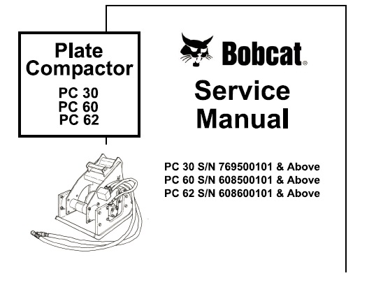 Bobcat PC 30 – 60