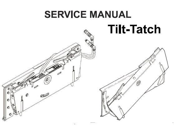 Bobcat Tilt-Tatch Service Repair Manual