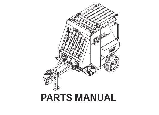 Gehl 1475 1875 Variable Chamber Round Baler Parts Manual
