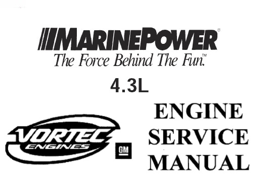 Marine Power GM 4.3L Engine Service Repair Manual
