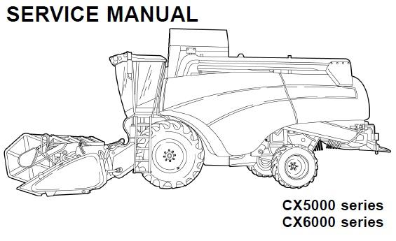 New Holland CX5080 , CX5090 , CX5090 Laterale , CX5090