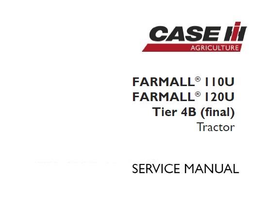 Case IH Farmall 110U , Farmall 120U Tier 4B (final